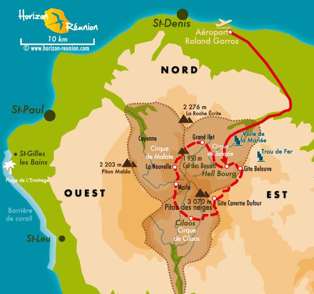 Trek 224 La R 233 Union Tour Du Piton Des Neiges Grr1